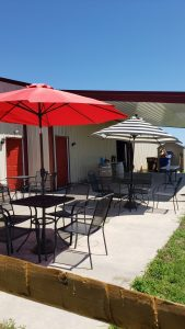 Cedarvale Winery Outdoor Seating