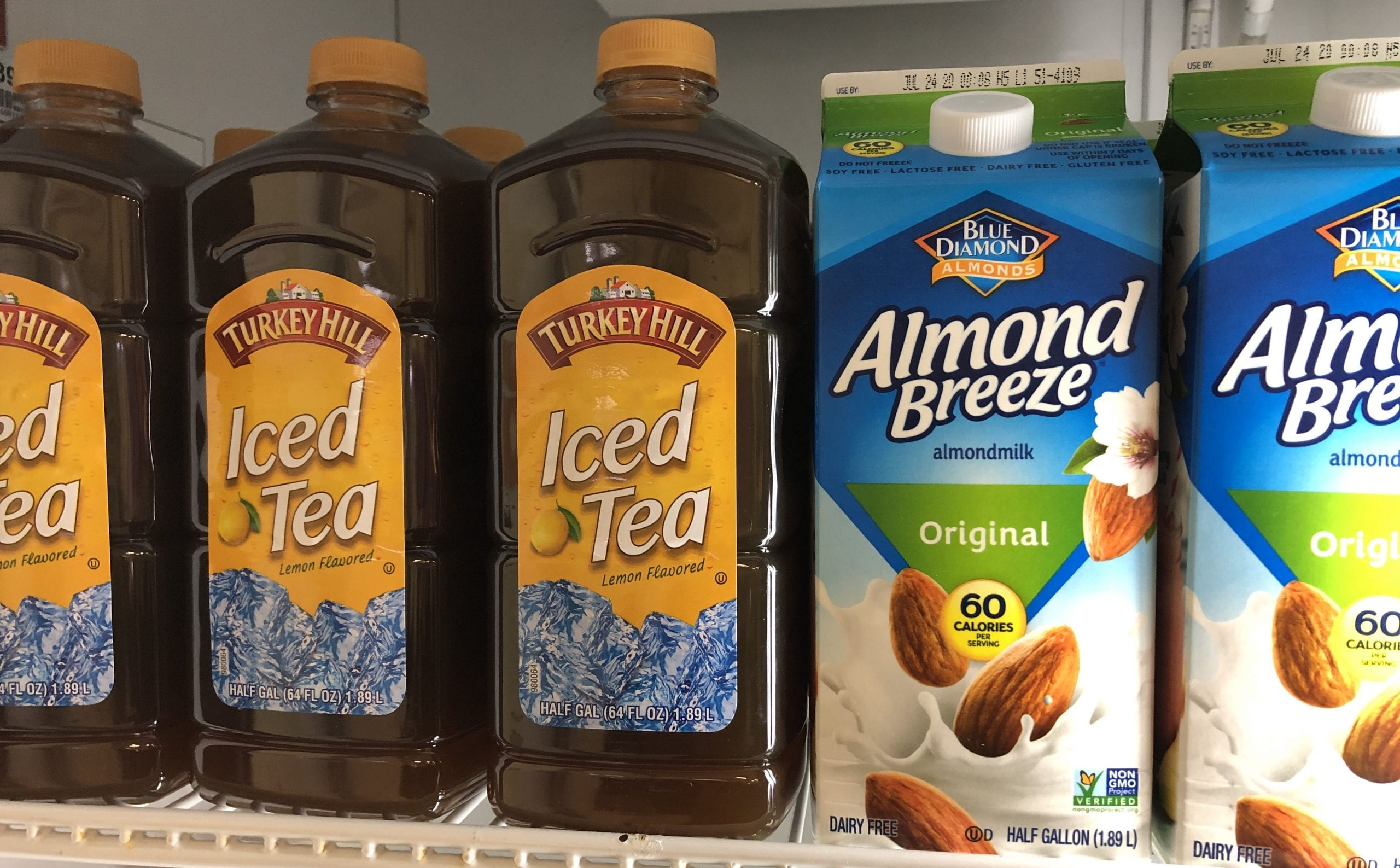 Turkey Hill Iced Tea & Almond Breeze