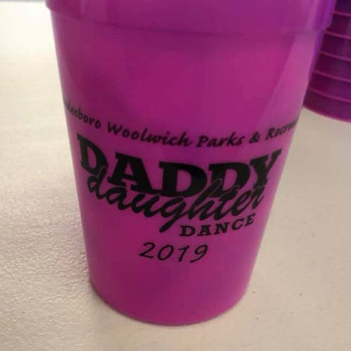 daddy daughter cup