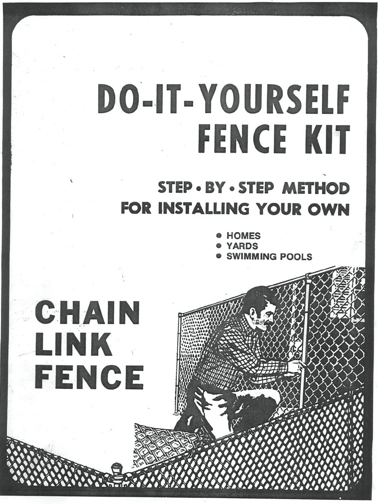 DIY chain link fence guide